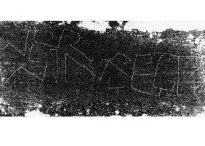 Plexiglas-Stiche 2007 - 51,5 x 21 cm und 45 x 30,7 cm - Ein Haiku von Basho - 4 Blatt - WER WINSELT